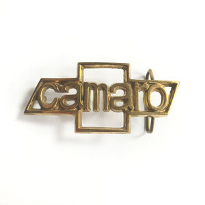 Other - Vintage Original Solid Brass Star Belt Buckle